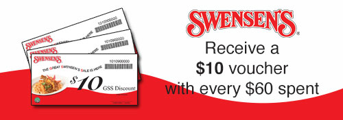Great Swensen's Sale